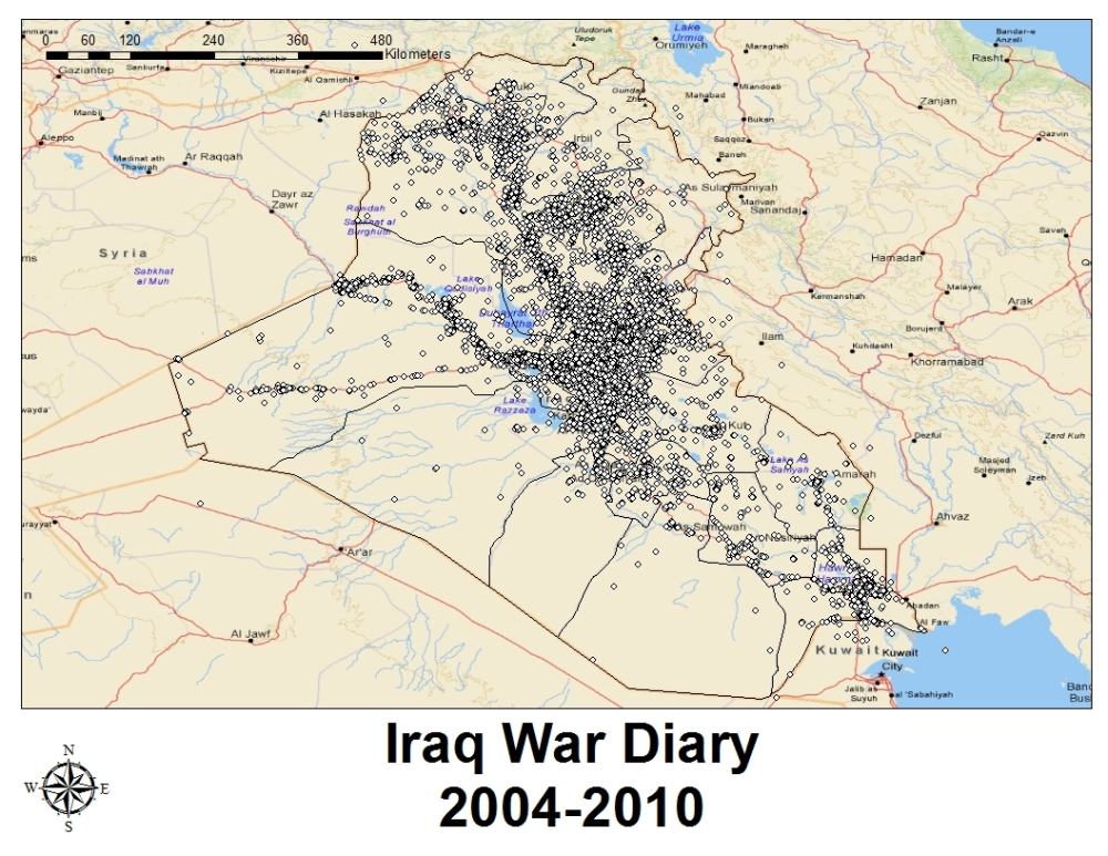 Wikileaks Iraq War Diary 2004-2009 Part 1 (1/5)