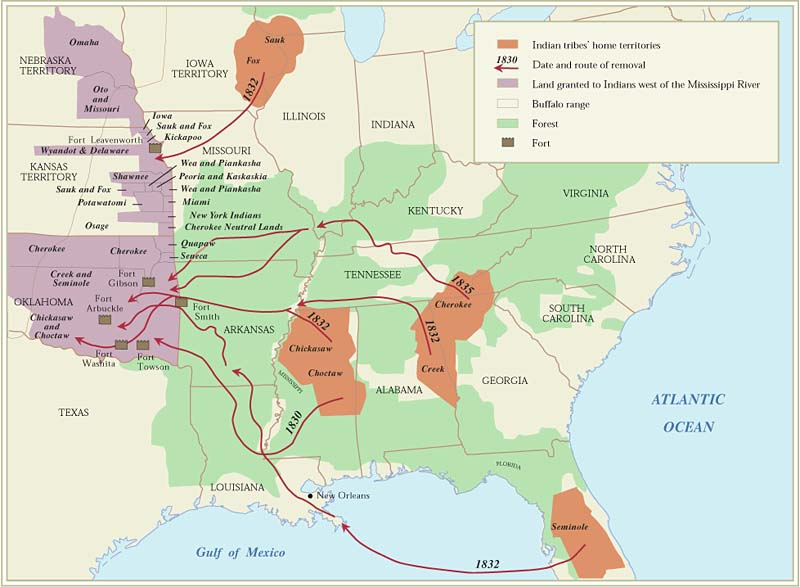 Indian Removals - Oxford Research Encyclopedia of American