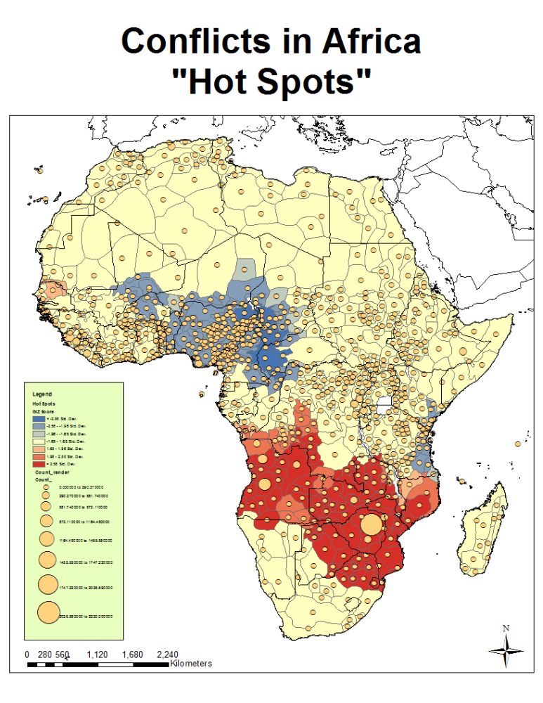 African Conflict and the Murdock Map of Ethnic Boundaries (4/6)