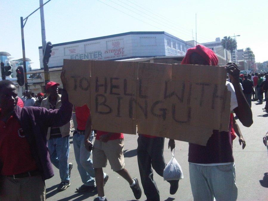 """To Hell with Bingu"""
