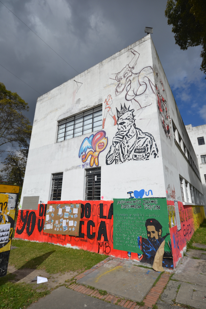 Graffiti And Bike Tours In Bogota Colombia Freewheel