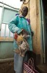 Rooster Seller, Mbita, Kenya