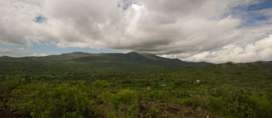 Mountain at Mbita Point