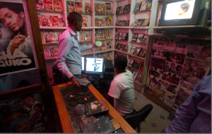 Video store in Tanzania