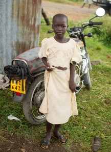 Girl with a motorcycle, Homa Bay, Kenya
