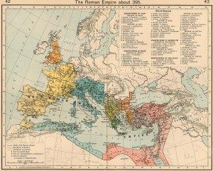 Roman Empire, c. 395